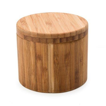 Saleiro em madeira 8cm Kenya