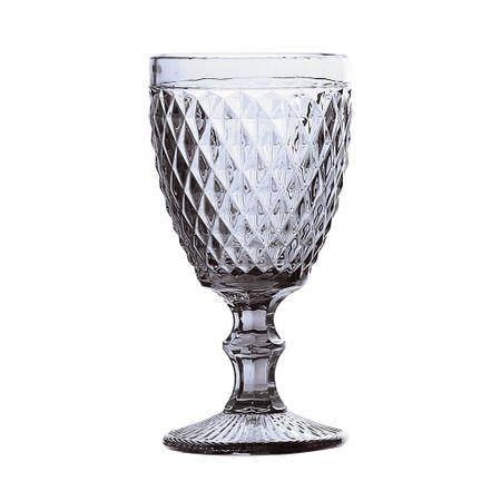 Taça para água em vidro 260ml bico de abacaxi Lyor