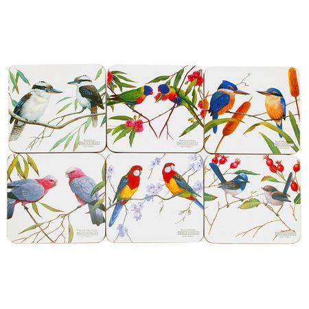 CONJUNTO-DE-6-DESCANSOS-PARA-COPOS-EM-MDF-BIRDS-MAXWELL---WILLIAMS