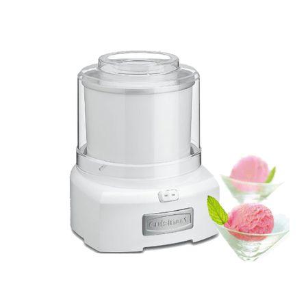 Máquina para sorvete branca Cuisinart -127V ice-21