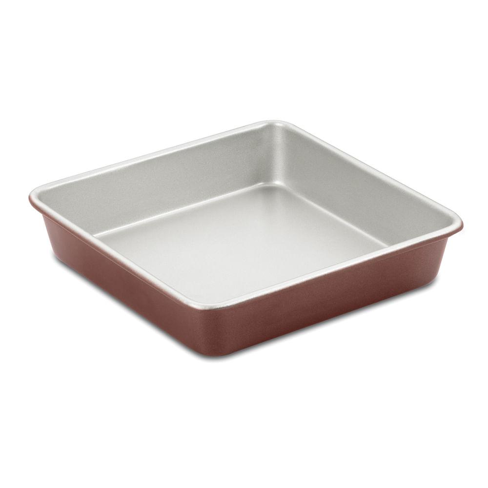 Forma Quadrada Em Alum 237 Nio Bronze 22cm Classic Cuisinart