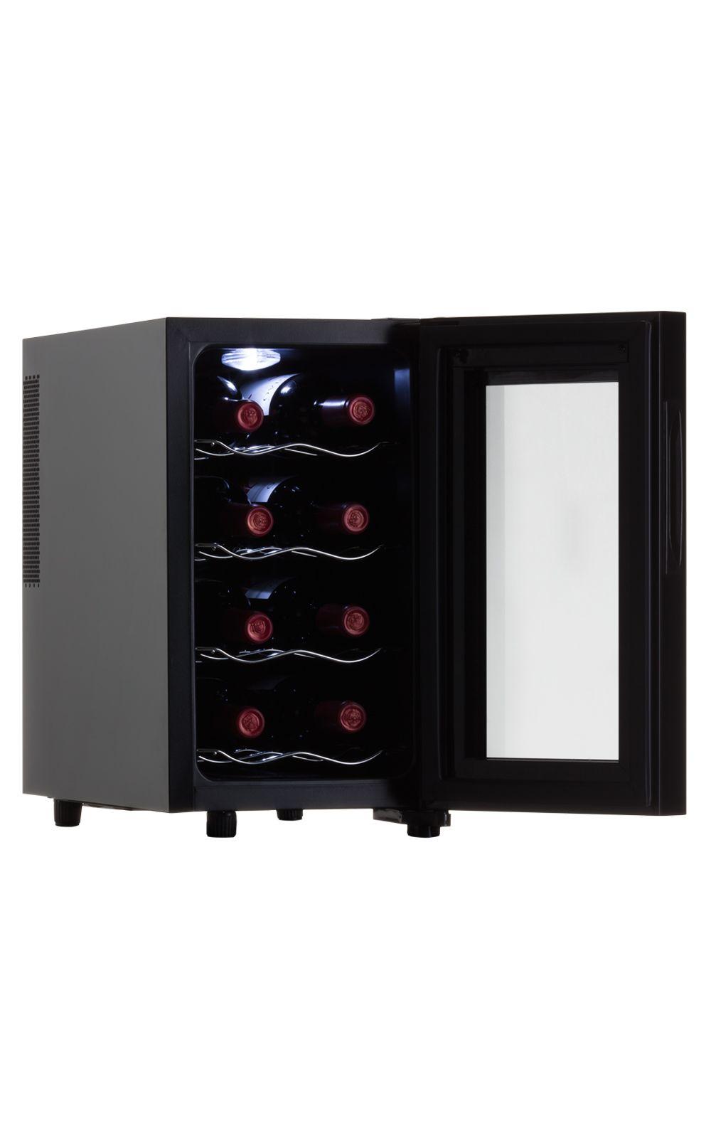 Foto 3 - Adega de Vinho 8 Garrafas Termoelétrica 220V Jc-23c1 Easy Cooler Preta