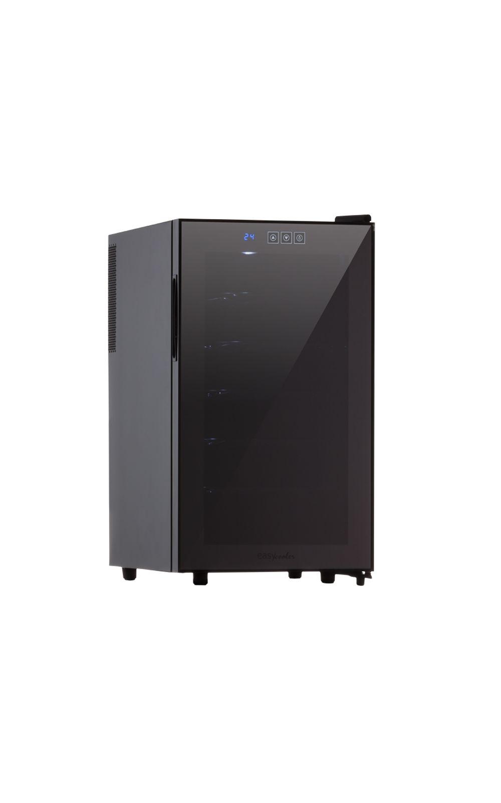 Foto 1 - Adega de Vinho 18 Garrafas Termoelétrica JC-48g 220V Easy Cooler Preta