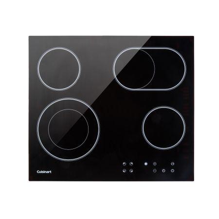 Cooktop vitrocerâmico com 4 queimadores prime cooking Cuisinart -220V cfea64210