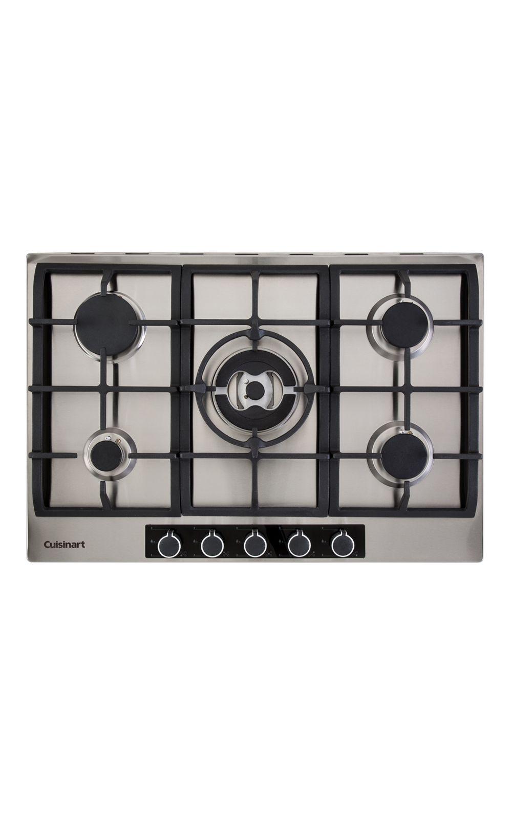 Foto 1 - Cooktop a Gás com 5 Queimadores 75cm P750STXL Casual Cooking 220V Cuisinart