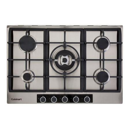 Cooktop a gás com 5 queimadores 75cm casual cooking Cuisinart -220V p750stxl