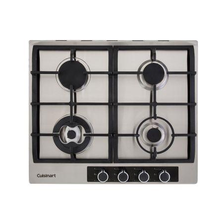 Cooktop a gás com 4 queimadores 60cm casual cooking Cuisinart -220V p640stx