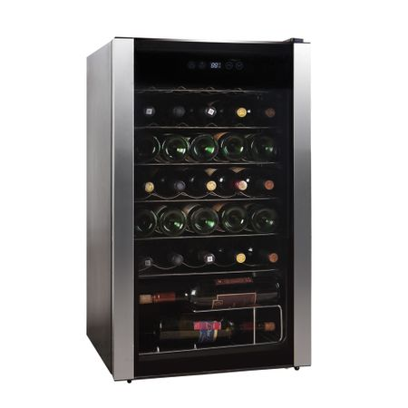 Adega de Vinho 34 Garrafas com Compressor HS-125we 127V Easy Cooler Preta