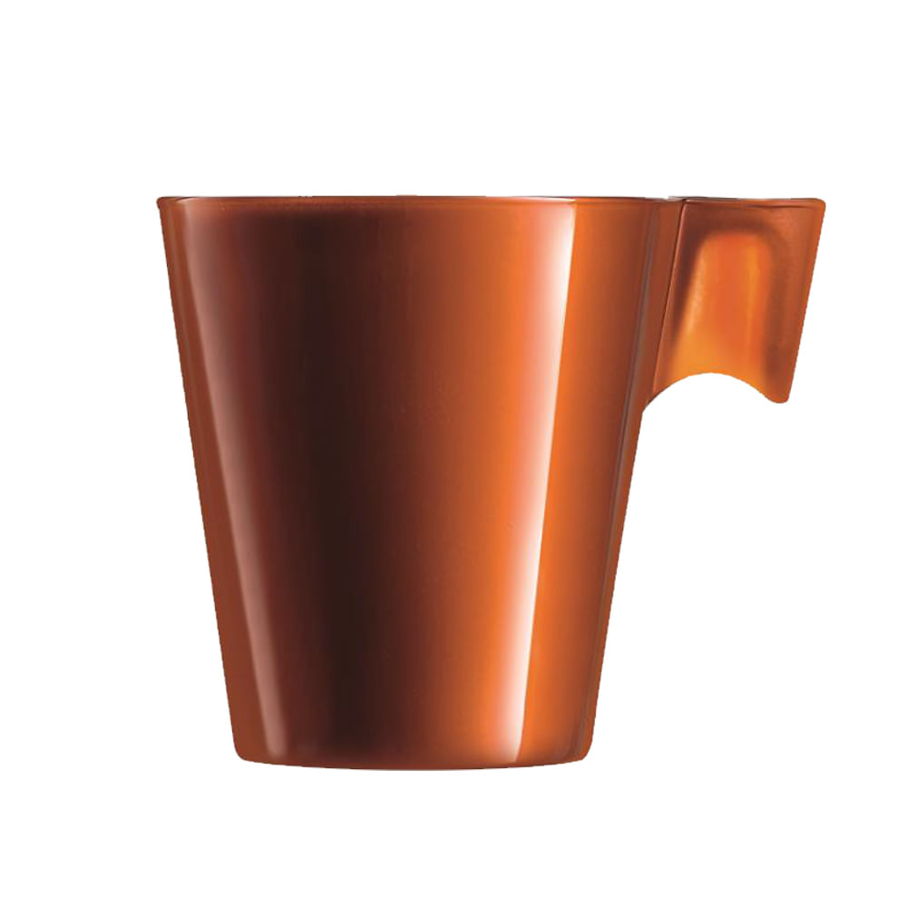 Xícara para Café em Vidro 80ml Flashy Luminarc Caramelo