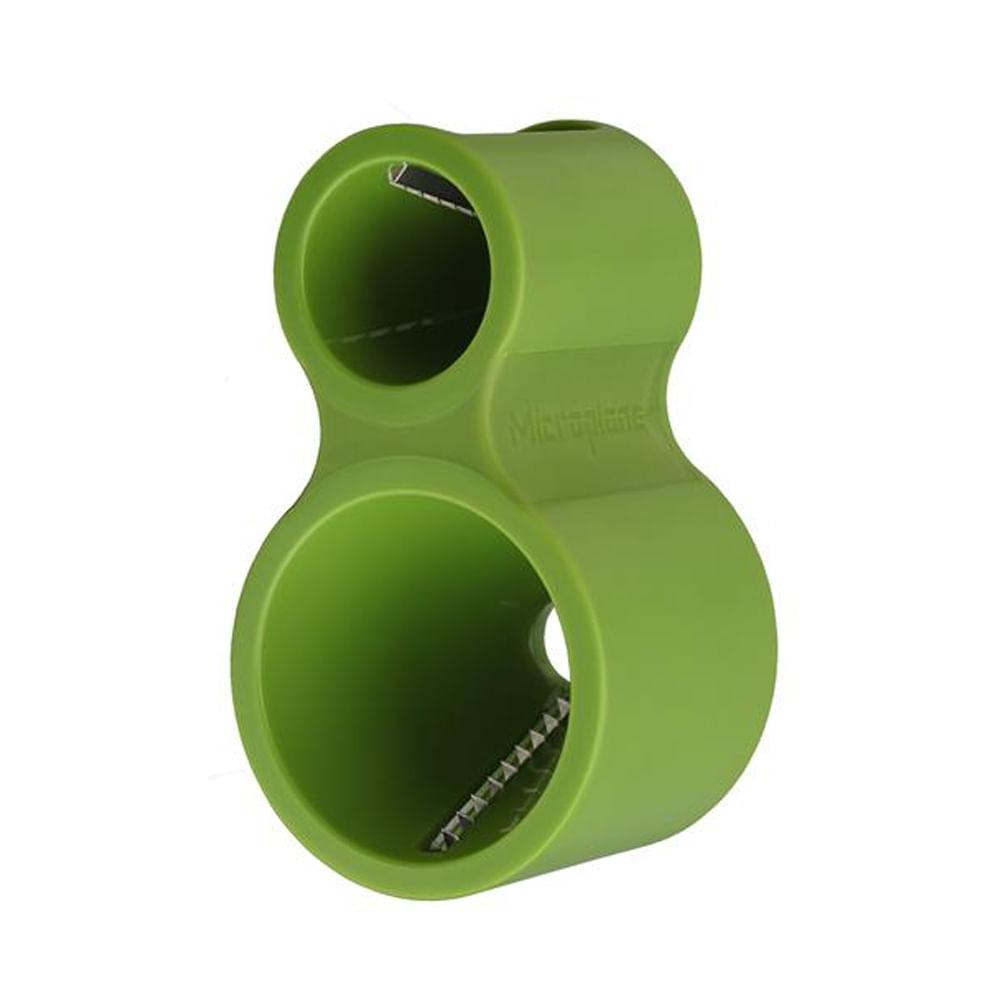Espiralizador Manual com 2 Estágios Curve Microplane Verde
