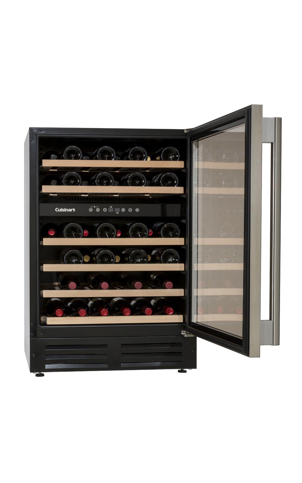 Foto 2 - Adega de Vinho 46 garrafas dual zone built in -220V prime cooking Cuisinart