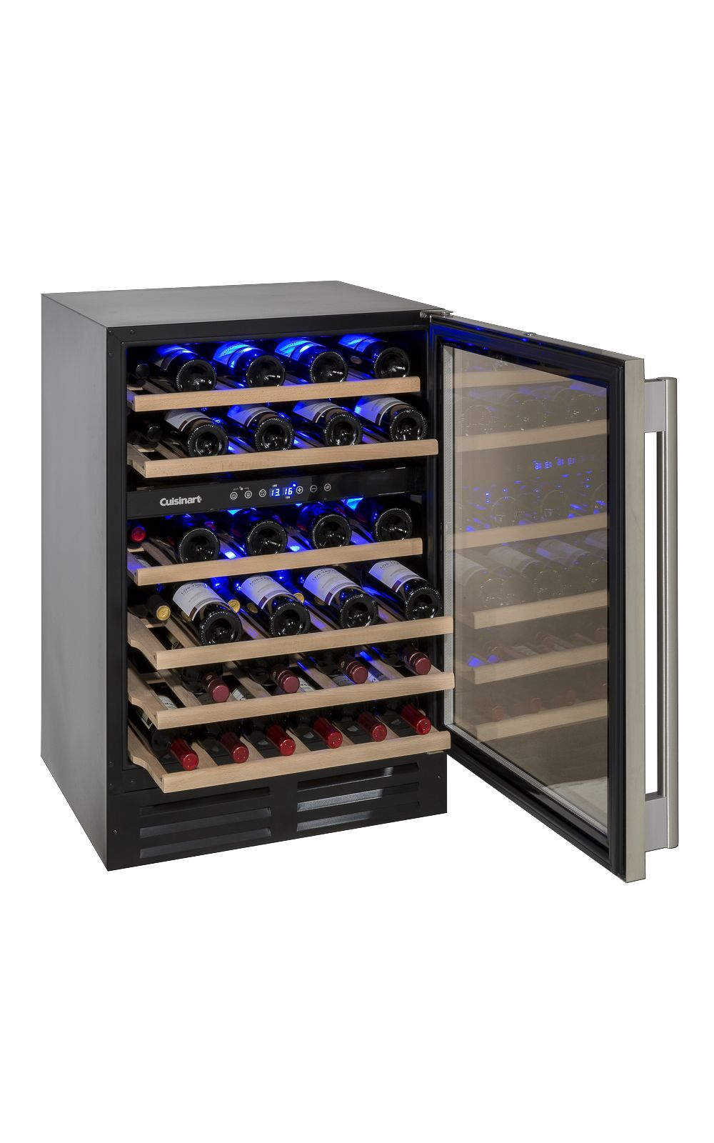 Foto 3 - Adega de Vinho 46 garrafas dual zone built in -220V prime cooking Cuisinart