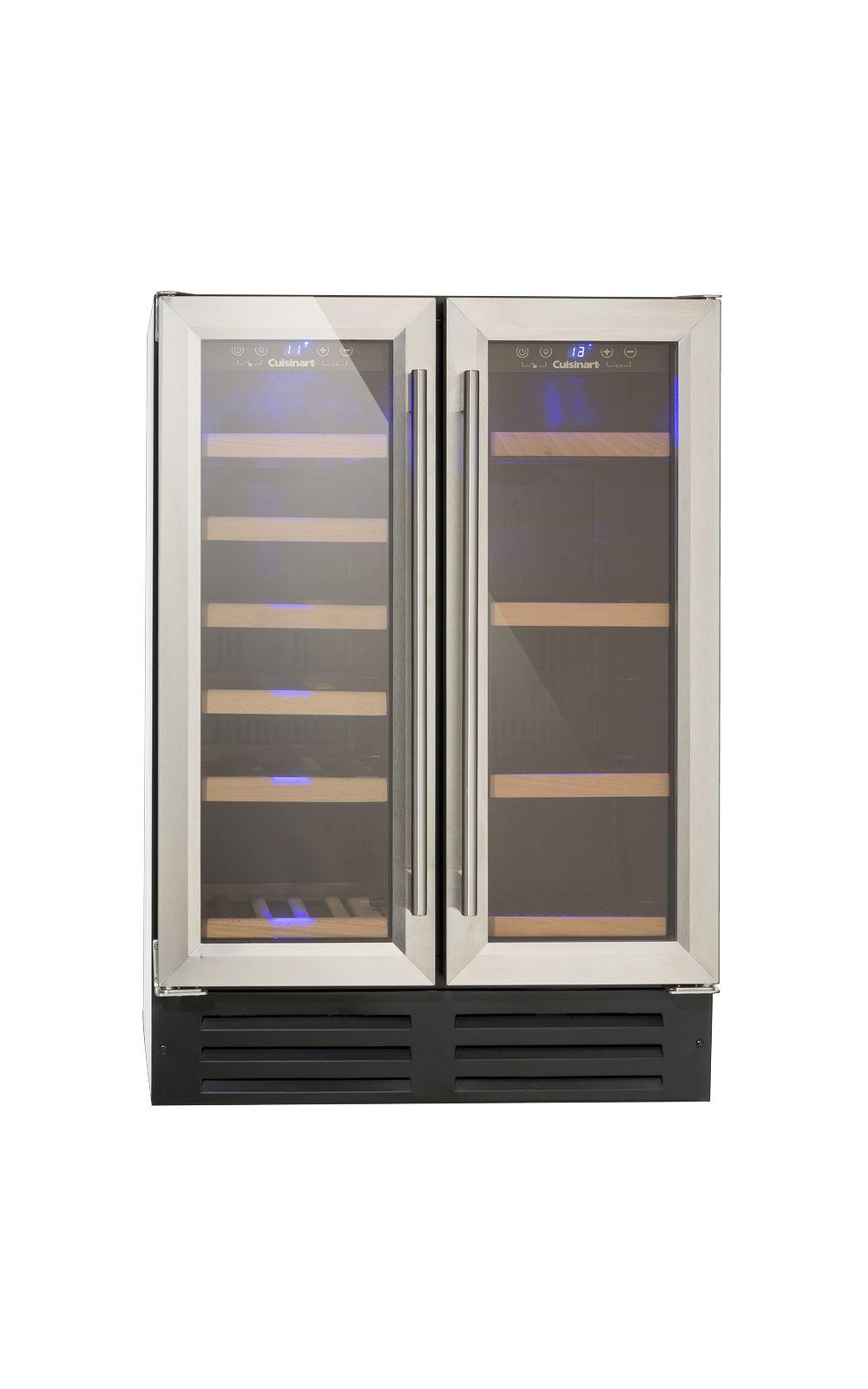 Foto 1 - Adega de Vinhos e Frigobar 2 Portas Built in 220V Prime Cooking Cuisinart