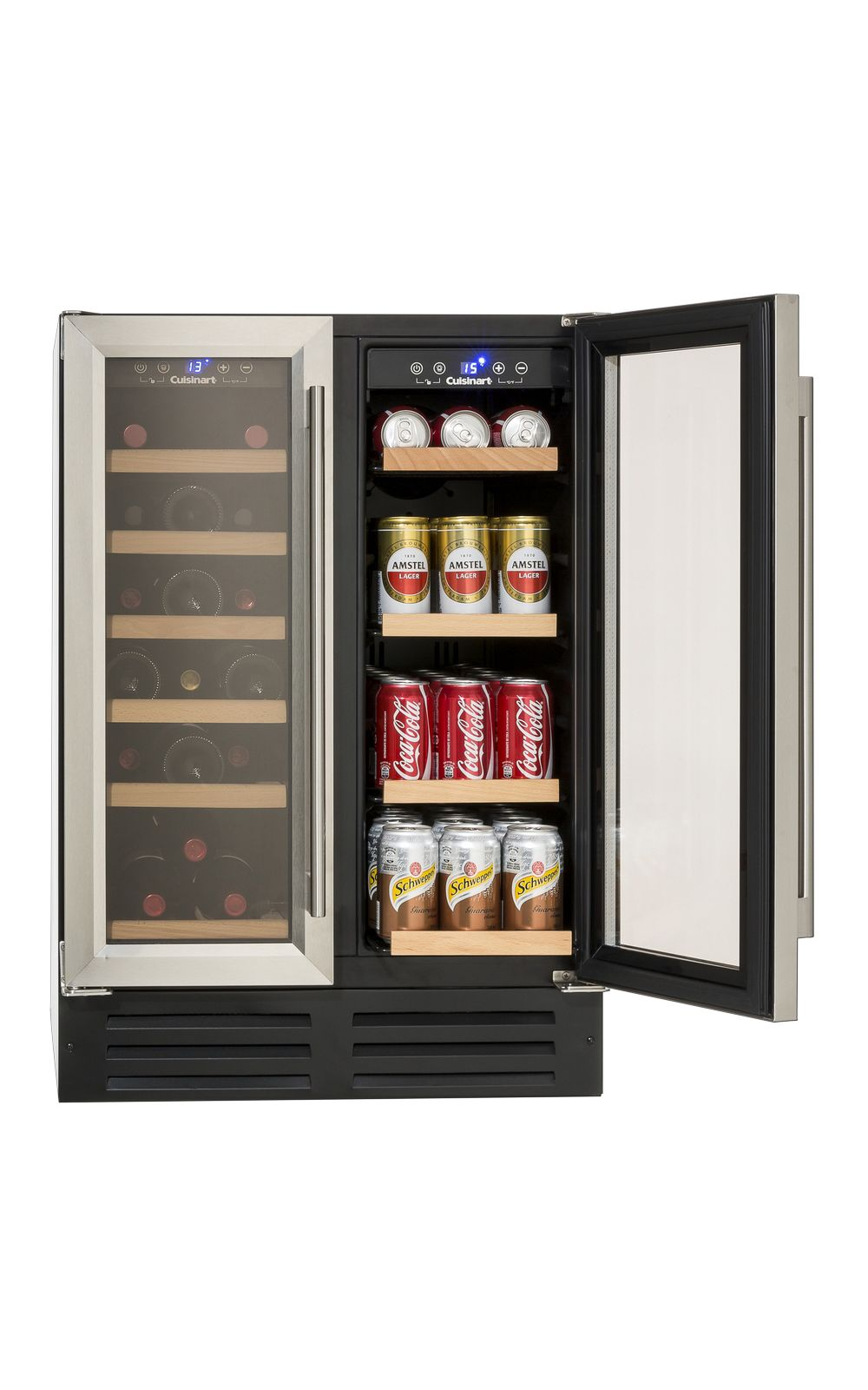 Foto 2 - Adega de Vinhos e Frigobar 2 Portas Built in 220V Prime Cooking Cuisinart
