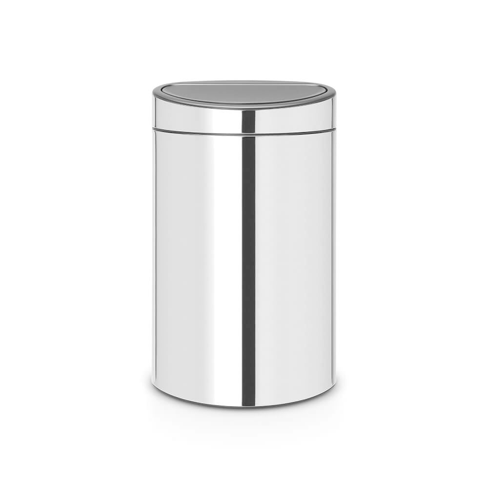 Lixeira em Aço Inox Touch Bin 40 Litros Brabantia