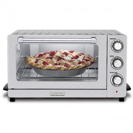 Forno-eletrico-em-aco-escovado-Cuisinart--220V-tob-60nbr