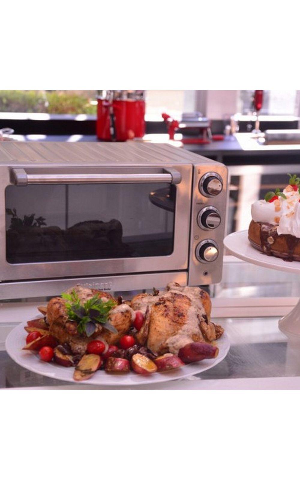 Foto 5 - Forno Elétrico em Aço Escovado Tob 60nbr 220V Cuisinart