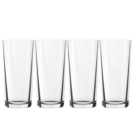 Conjunto de 4 copos alto em vidro long drink 350ml Spiegelau