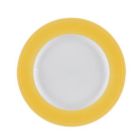 Conjunto-de-4-pratos-para-sobremesa-em-porcelana-amarela-21cm-breeze-Kenya