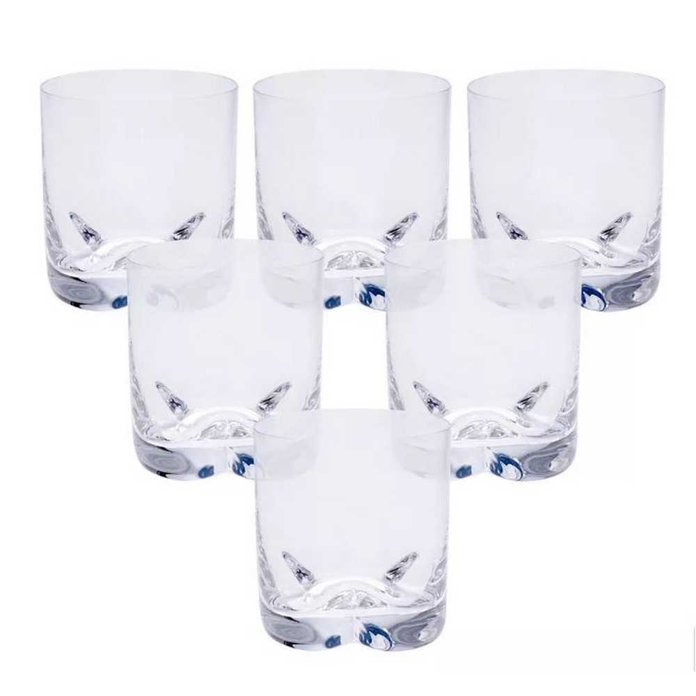 Conjunto de 6 Copos para Whisky Trio On The Rocks 410ml Bohemia