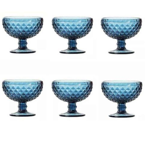 Conjunto-de-6-taca-para-sobremesa-em-vidro-azul-bico-de-abacaxi-260ml-Lyor