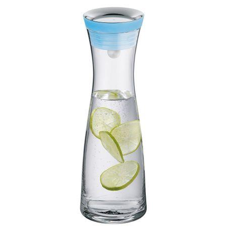Jarra-em-vidro-1-litro-com-tampa-azul-basic-WMF