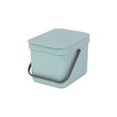 Lixeira-penduravel-em-polipropileno-verde-6-litros-sort---go-Brabantia