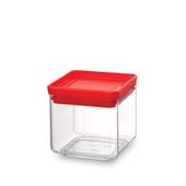 Pote-quadrado-em-polipropileno-vermelho-700ml-Brabantia