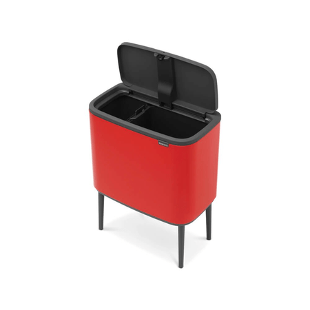 Lixeira-em-polipropileno-bo-touch-36-litros-vermelha-Brabantia-