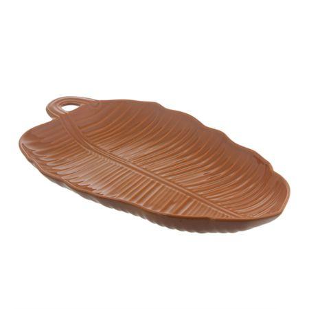 Travessa-em-ceramica-leaves-canela-55cm-Rita-Lobo