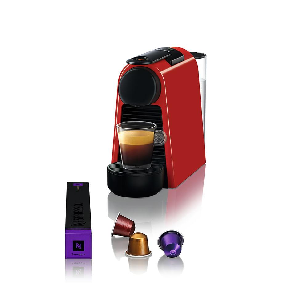 Máquina de café essenza mini vermelha d30 Nespresso - 127V