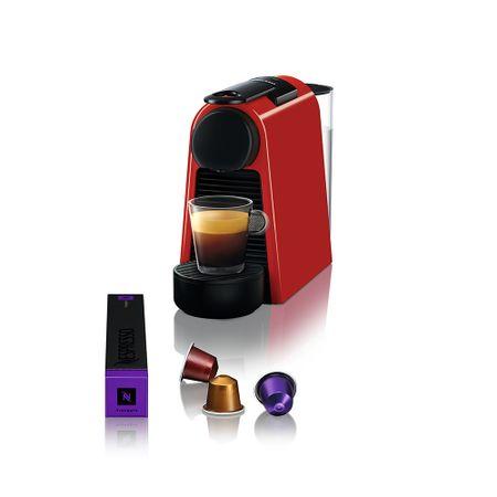 Maquina-de-cafe-essenza-mini-vermelha-d30-Nespresso---220V