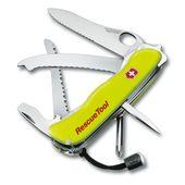 Canivete-Rescuetool-Com-Bainha-Amarelo-Fosforescente-Victorinox