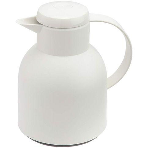 Garrafa-Termica-de-1-litro-Quick-Press-Branco-Opaque-Samba-Emsa