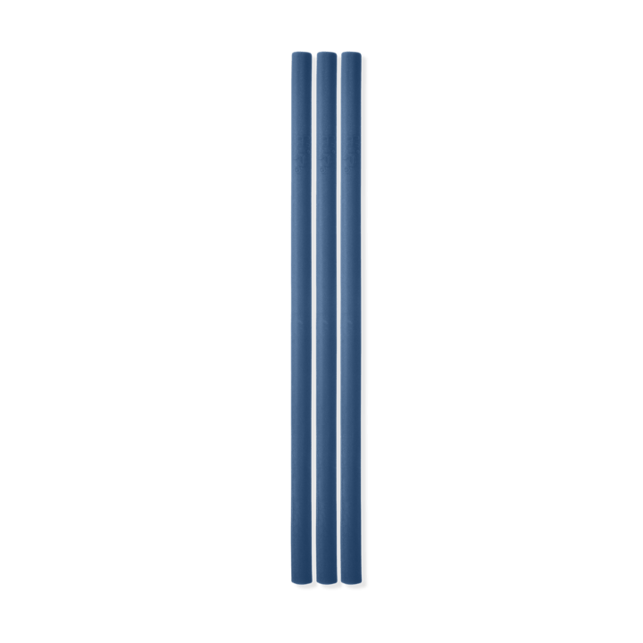 Conjunto com 3 Canudos Space B-Hip Azul