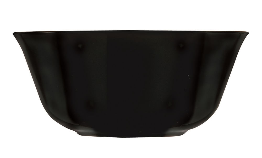 Bowl Carine em Vidro Temperado 12cm de 330ml Luminarc Preto