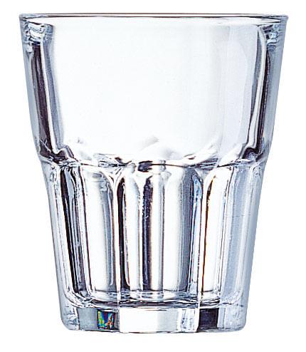 Conjunto com 6 Copos Granity em Vidro Temperado 270ml Luminarc
