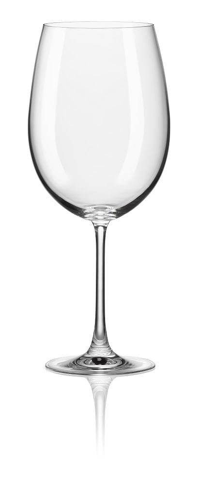 Conjunto com 6 Taças para Vinho Magnum Bordeaux 850ml Spicy