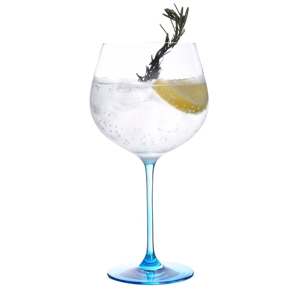 Conjunto de 2 Taças para Gin 780ml Spicy Azul