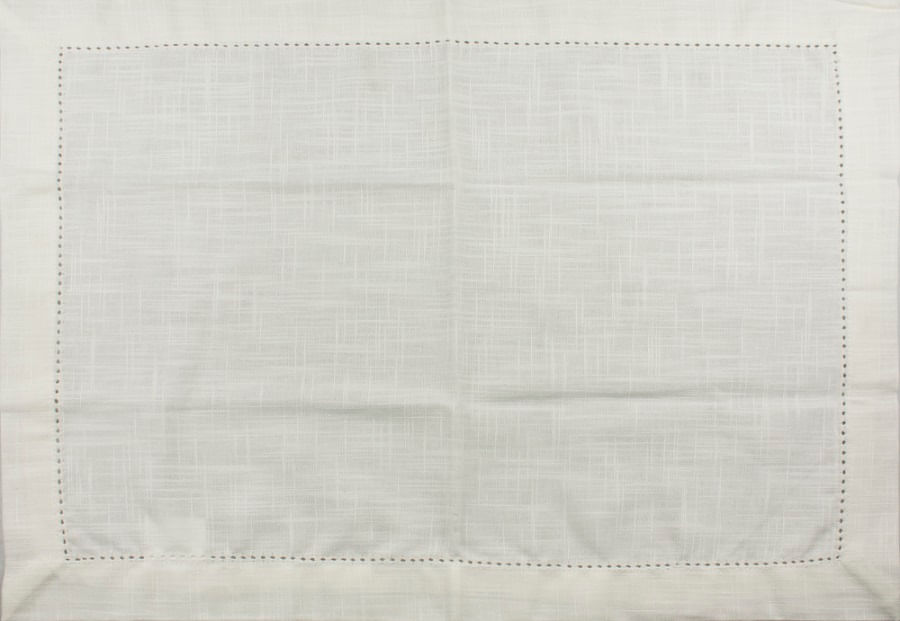 Conjunto com 2 Guardanapos em Tecido 40cm Full Fit Off White