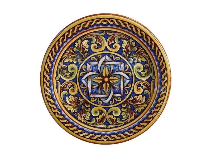 Prato em  Cerâmica Salerno Duomo 20cm Maxwell & Williams