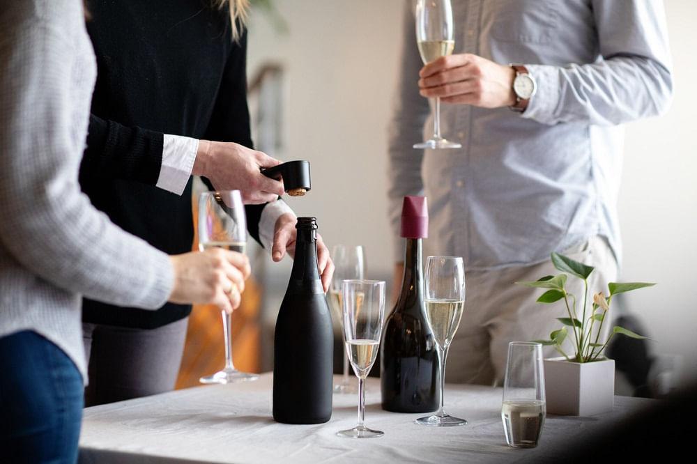 Abridor para Champagne de Plástico Rabbit