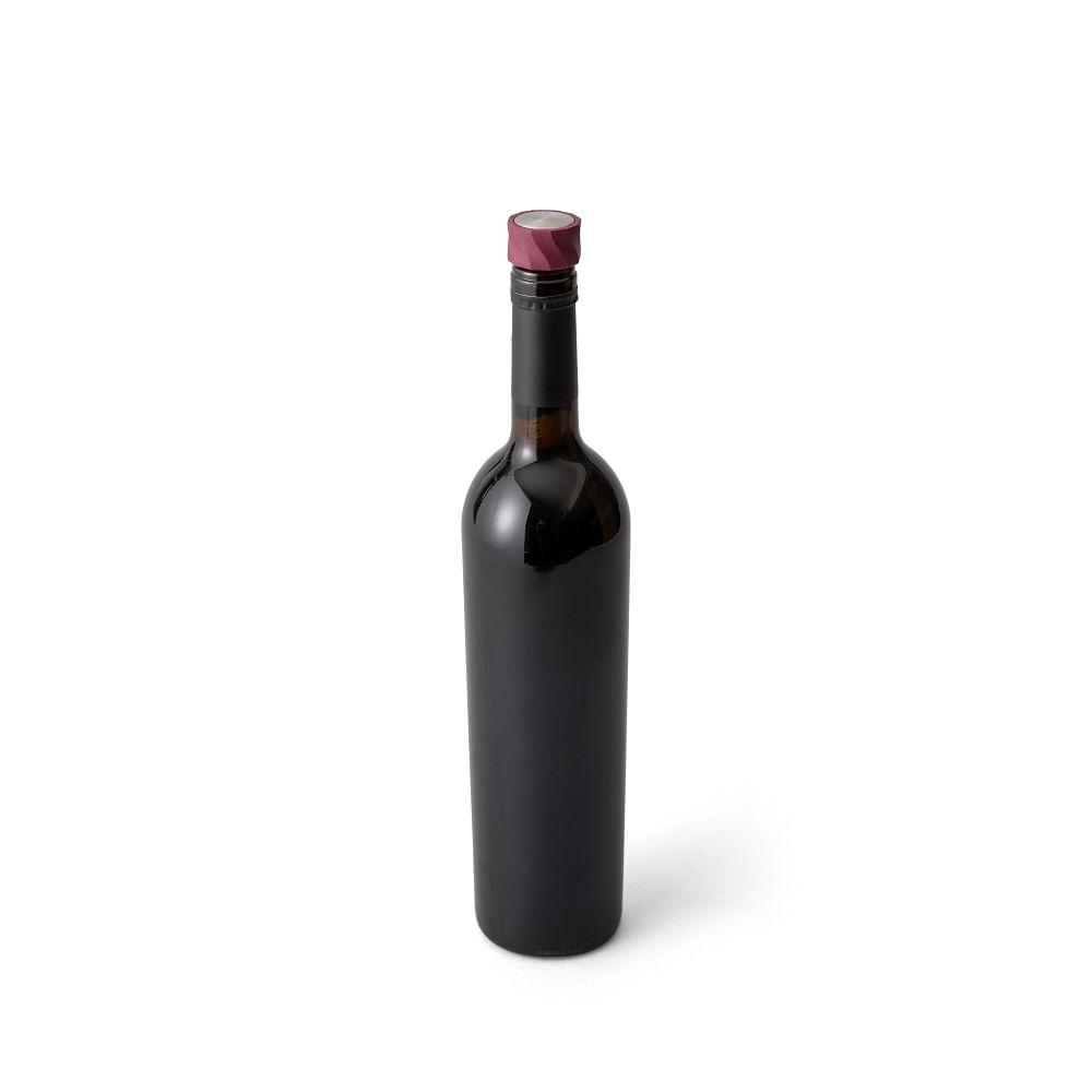 Conjunto com 2 Rolhas para Garrafa de Vinho em Plástico Rabbit