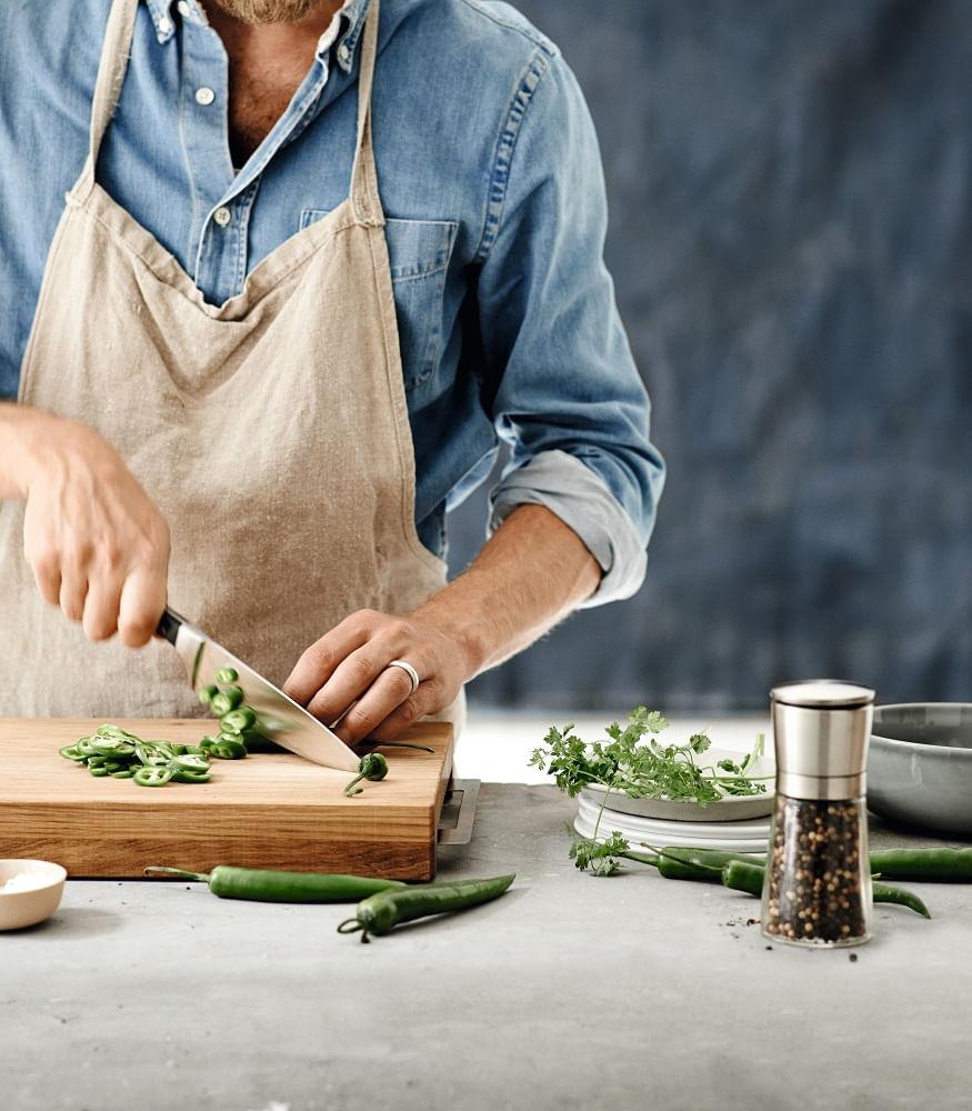 Faca Chef em Aço Inox 20cm Spitz WMF