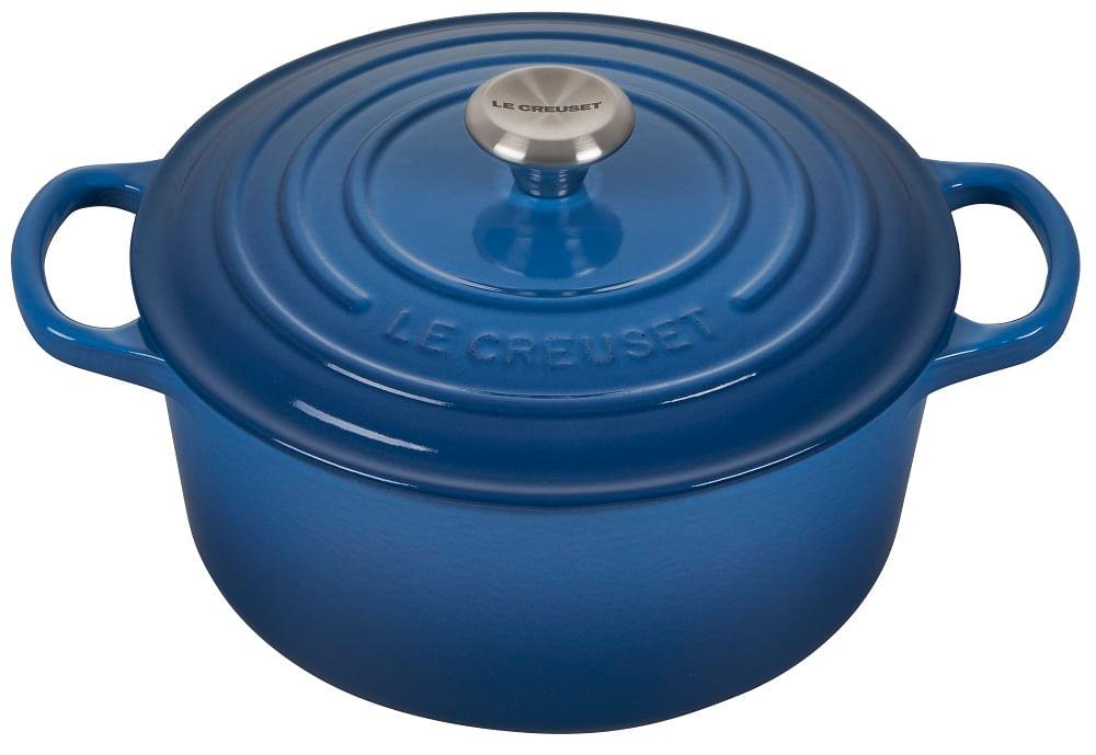 Caçarola Redonda Signature 20cm Le Creuset Azul