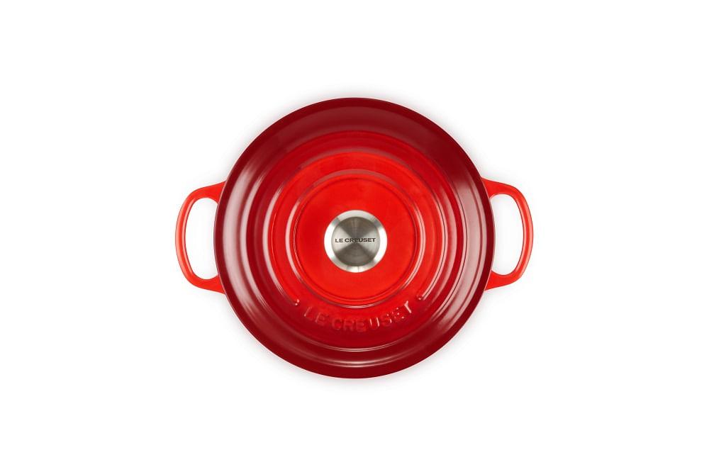 Caçarola Redonda Signature 20cm Le Creuset Vermelha