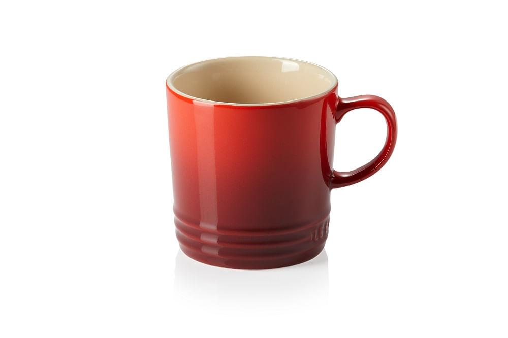 Caneca em Cerâmica 350ml Le Creuset Vermelha
