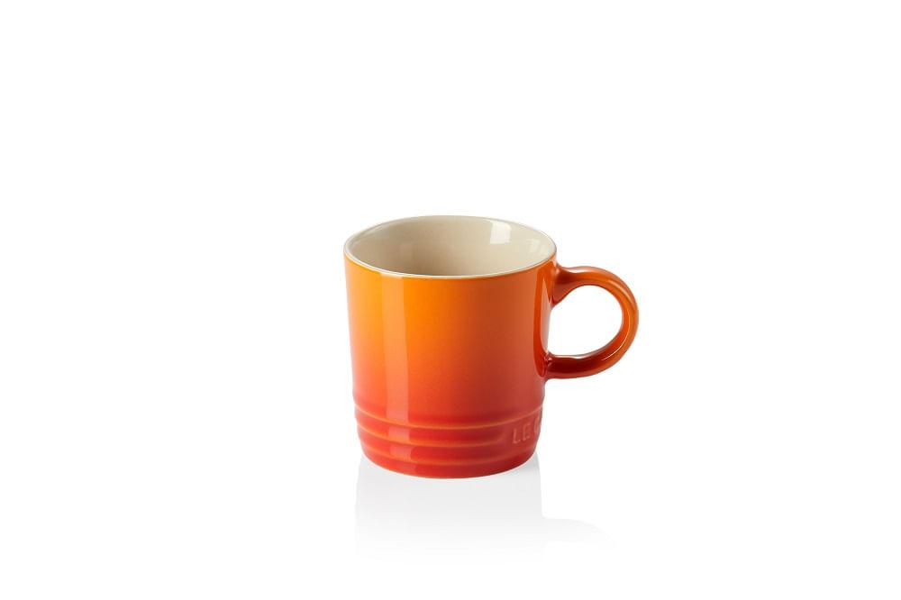 Caneca para Café em Cerâmica 100ml Le Creuset Laranja