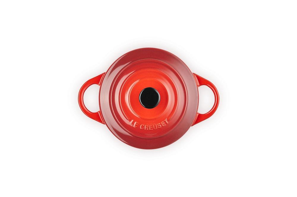 Mini Cocotte em Cerâmica 10cm Le Creuset Vermelho
