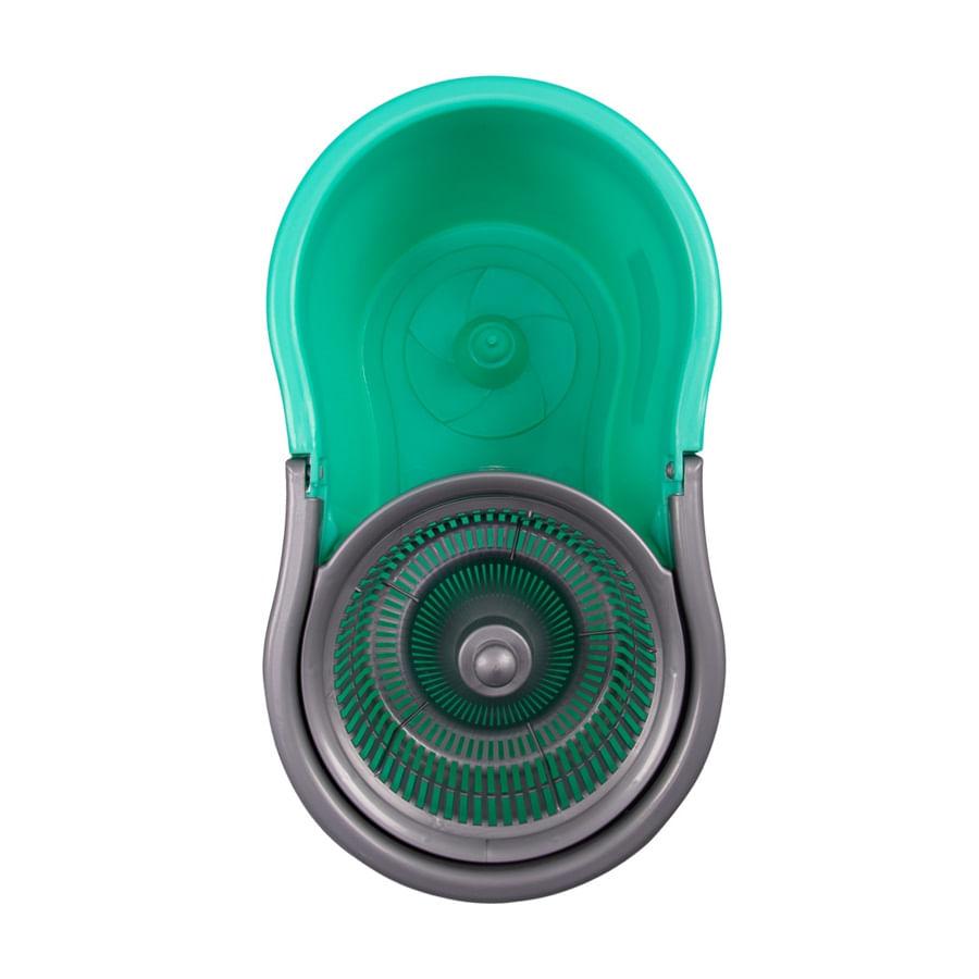 Mop Fit com Balde Noviça em Plástico 8 Litros Bettanin Verde